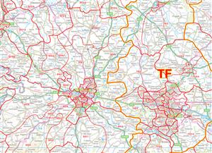 10 West Midlands - Postcode Sectors Map - PDF FILE