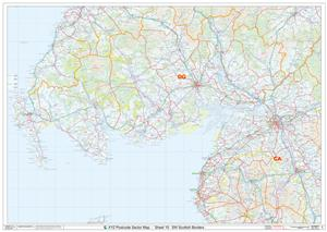 15 SW Scottish Borders - Postcode Sectors Map - GIF FILE