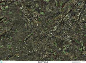 SkyView Sheffield, Yorkshire Aerial Photo- England
