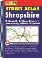 Shropshire, England, Spiral Street Atlas - Philip's Map