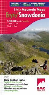 Snowdonia, Wales, BMC Mountain Map