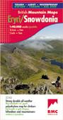 British Mountain Map: Snowdonia, Wales - Harvey Maps