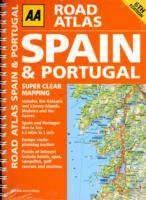 Spain and Portugal, Road Atlas - AA Publishing