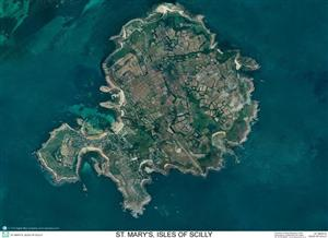 SkyView St.Marys Aerial Photo- Scilly Isles, Cornwall England