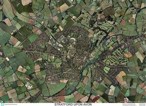 SkyView Stratford upon Avon, Warwickshire Aerial Photo- England