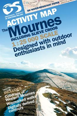 Mournes Activity (inc Croob) - Ordnance Survey Northern Ireland