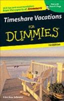 Timeshare Vacations For Dummies - ebook - PDF