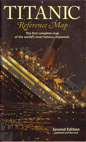 Titanic Reference Map - Hedberg Maps