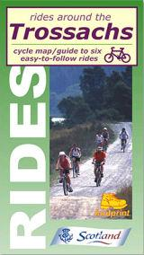 Trossachs, Scotland, Rides Around - Footprint Maps - Cycle Guide
