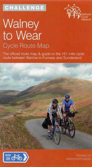Walney to Wear, Barrow in Furness and Sunderland , England - Cycle Map - Sustrans