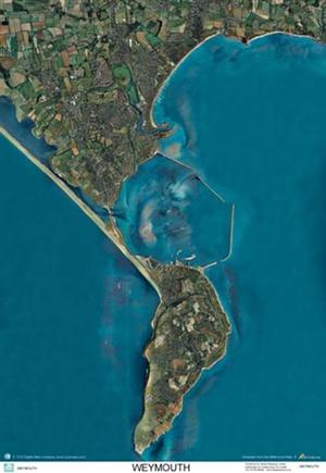 SkyView Weymouth Aerial Photo- Dorset, England