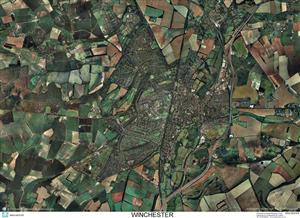 SkyView Winchester Aerial Photo- Hampshire, England