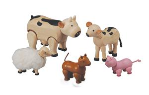 Wooden Animal Set