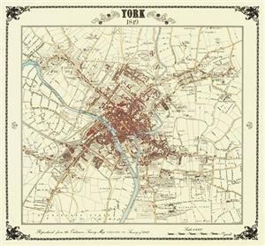York Victorian Town Plan - Heritage Cartography