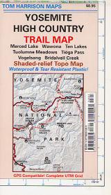 Yosemite High Country Trail Map